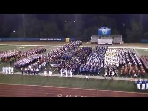 The winner is! Troy Buchanan High School Marching Band - Quincy Octoberfest 2016