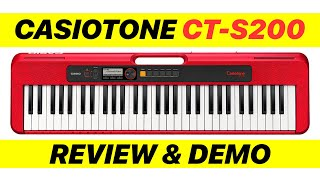 Casiotone CT-S200 Review | Tones, Rhythms, Features