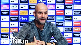 Pep Guardiola promises 'lots of surprises' in tense Premier League title race