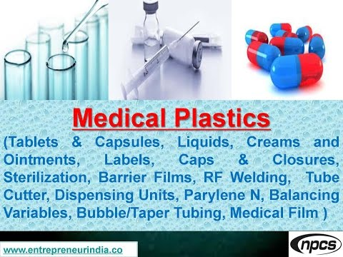 Medical Plastics (Tablets & Capsules, Liquids, Creams and Ointments)
