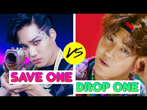 KPOP: SAVE ONE DROP ONE (BOYGROUP SONGS EDITION 1)