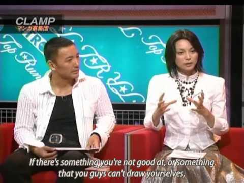 CLAMP TV interview 2005