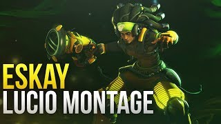 Eskay - NA Lucio GOD Montage - Overwatch Montage