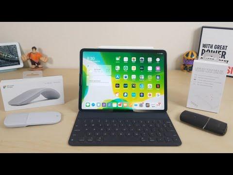 iPad Pro iPadOs Mouse Comparison Surface Arc Vs. Lenovo Yoga...