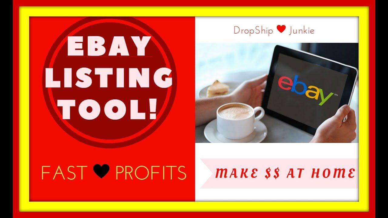 Ebay Listing Tool
