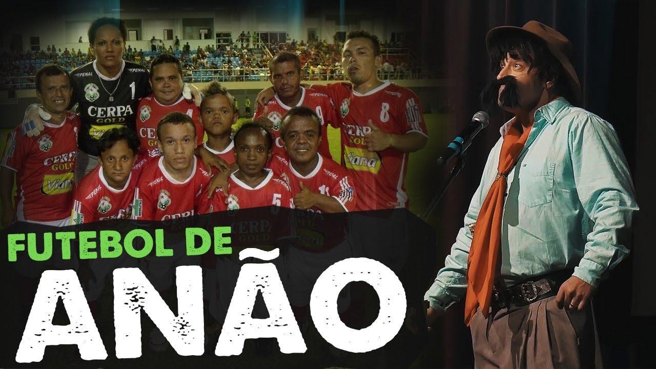 Futebol de Anão - Stand Up Bagual do Gaudêncio