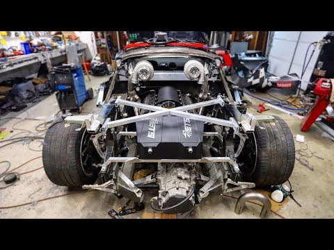 Installing an Air to Water Intercooler on the LS Swapped Huracan