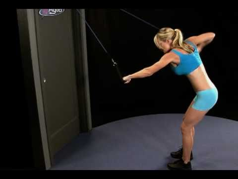 Swim stroke training with resistance bands youtube for Swimming pool exercises for buttocks