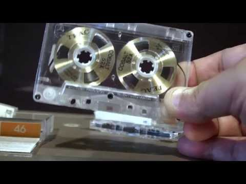 Teac cobalt 52x reel to reel cassette tapes review. World´s most expensive cassette tapes