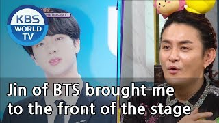 JobinJin of BTS brought me to the front of the stage[Happy Together/2019.03.14]