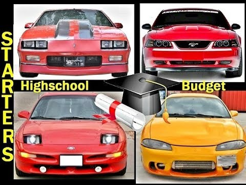 6 Starter Cars EVERY Highschooler Should Consider Buying!