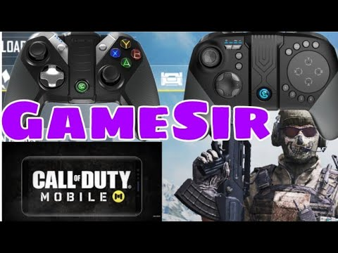 Call Of Duty Com GameSir G4s & G5
