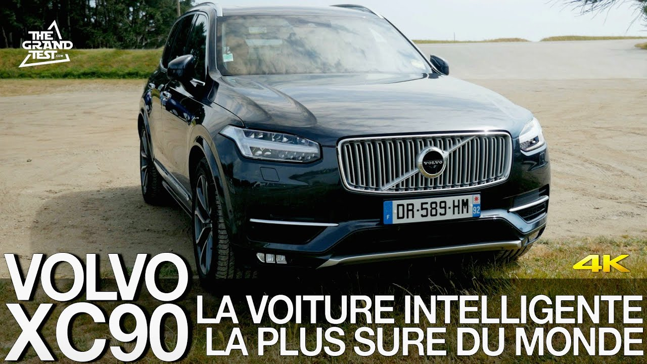volvo xc90 la voiture intelligente la plus s re du monde youtube. Black Bedroom Furniture Sets. Home Design Ideas