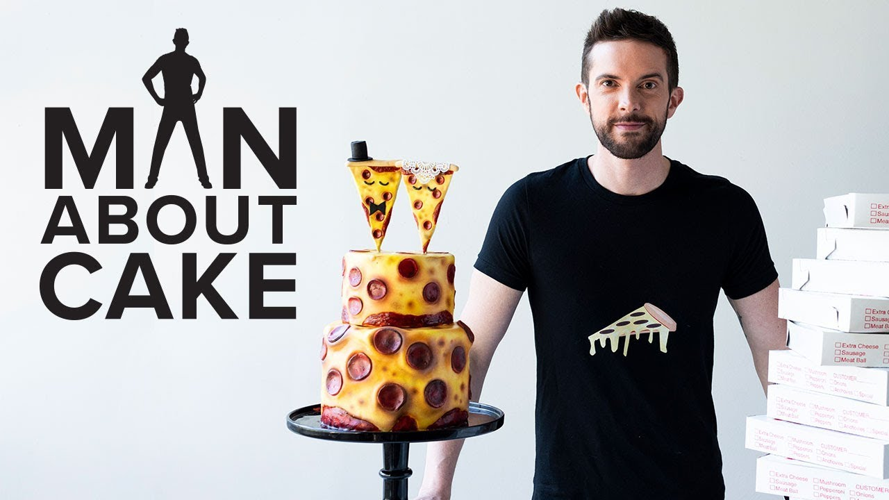 pizza-wedding-cake-for-national-pepperoni-pizza-day-man-about-cake-with-joshua-john-russell