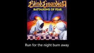Blind Guardian - Run for the Night (Lyrics)