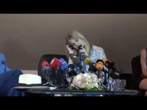 Press Conference/Meeting with Nastassja Kinski