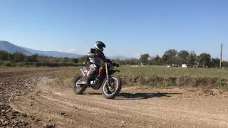 Dirt Track riding course 1 on 1 at Monster Club (Cassino-Italy)