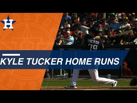 Kyle Tucker crushes three homers so far in ST