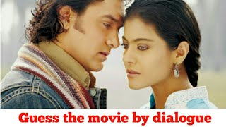 Guess the movie/Guess the bollywood movies by dialogues/Guess the movie by dialogue/Movie Challenge
