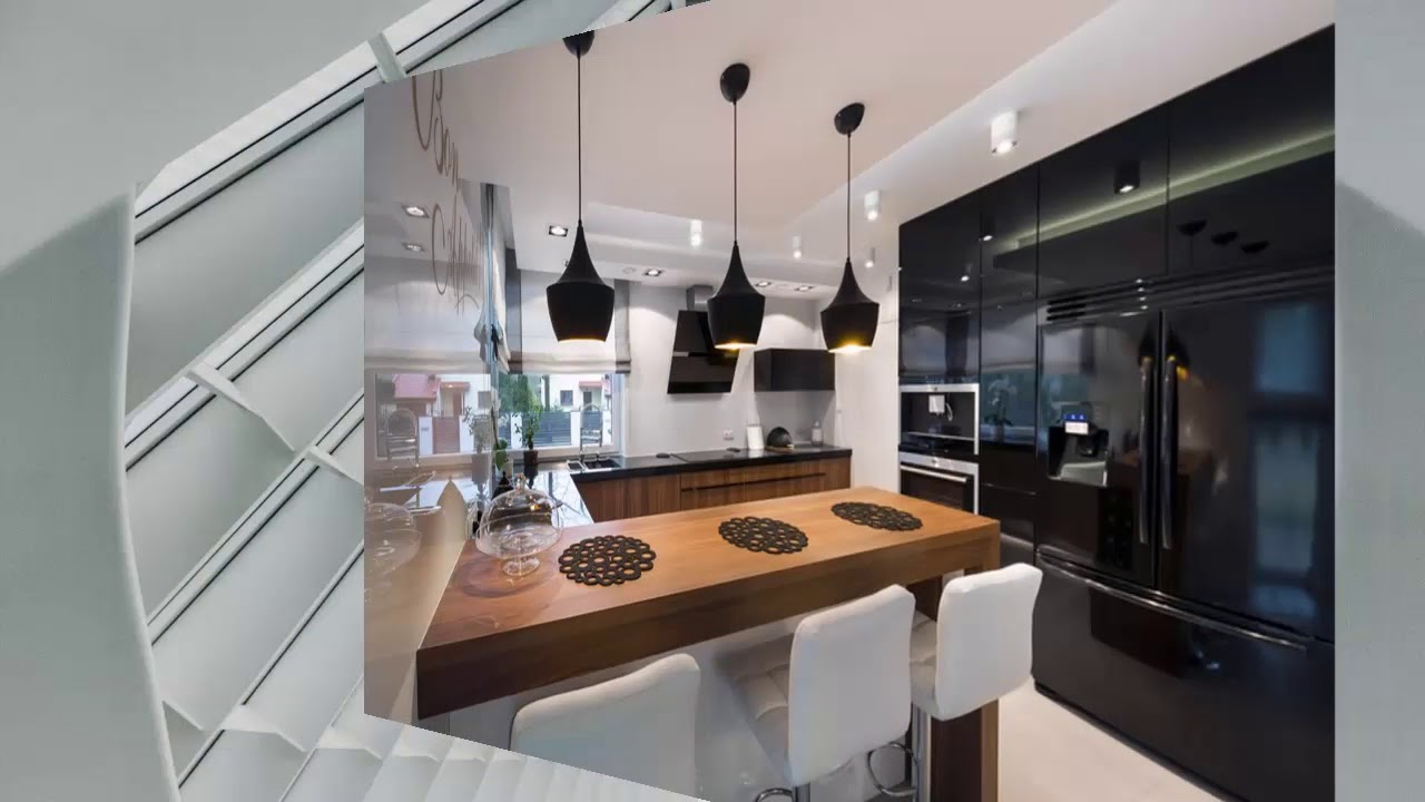 moderne küchen u form - YouTube