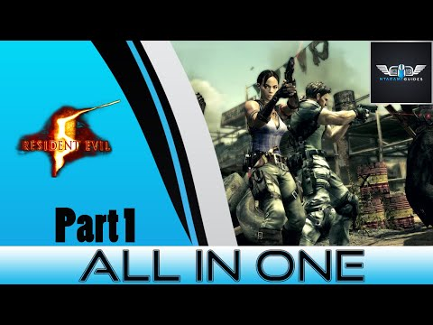 "Resident evil 5 - ""All In One"" Treasure & BSAA Emblems Part 1"