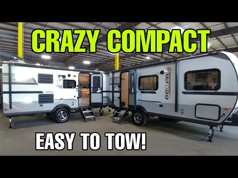 Super Compact Travel Trailers With Awesome Interiors! Geopro