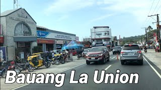 Bauang La union Drive video Street Views in the Philippines