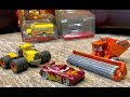 New Disney Cars 3 Toys 2018 Frank & Scott Tiller Review 🚜 River Scott Trains Lightning McQueen
