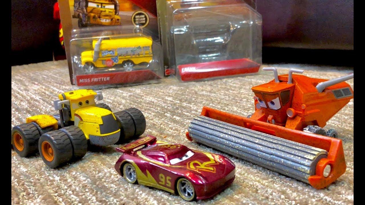Not Toys For 2018 From Moive : New disney cars toys frank scott tiller review
