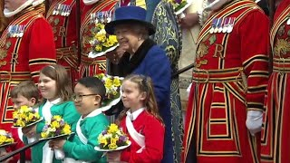 Queen Elizabeth Attends Church Solo as Prince Phillip Battles Health Issues