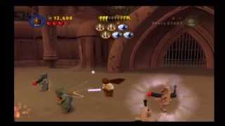 Lego Star Wars the Video Game Walkthrough [W2] Attack of the Clones [E3] Jedi Battle