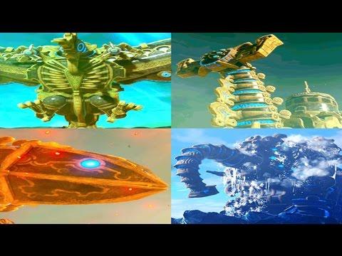 4 Divine Beasts