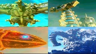 Zelda Breath of the Wild - All Divine Beast Cutscene