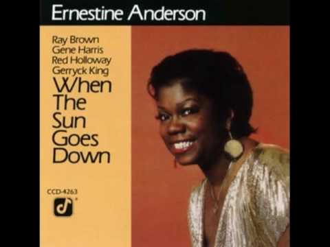 Ernestine Anderson, going to Chicago blues