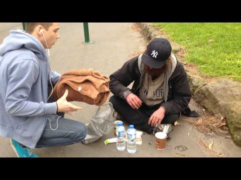 FEEDING THE HOMELESS - TIMMY COMMERFORD