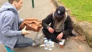 FEEDING THE HOMELESS - TIMMY COMMERFORD