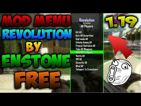 | MOD MENU REVOLUTION BY ENSTONE [ FREE ] +DOWNLOAD | HACKS BLACK OPS 2 1.19 |