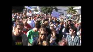 Global Cannabis march 2013 Cape Town part one