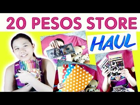 HUGE MARKET! MARKET! 20 PESOS STORE HAUL! 💖 CHEAPER THAN DIVISORIA! I ChesteneY