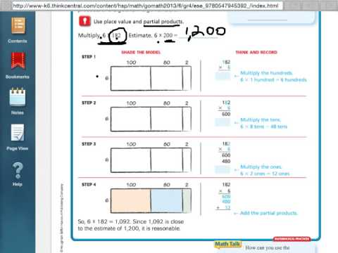 Multiplication Worksheets » Multiplication Worksheets With Partial ...