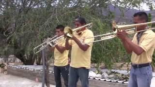 """Banda San Francisco de Huehuetlan el Chico """"Ojitos Negros"""" en Cascalote de Bravo Marzo 27, 2015"""