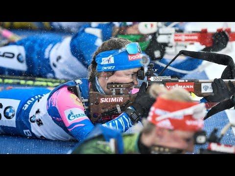 🔴#Биатлон 🏆#чемпионат #мира 22.02.2020 #женская #эстафета #biathlon #womens #world #championship