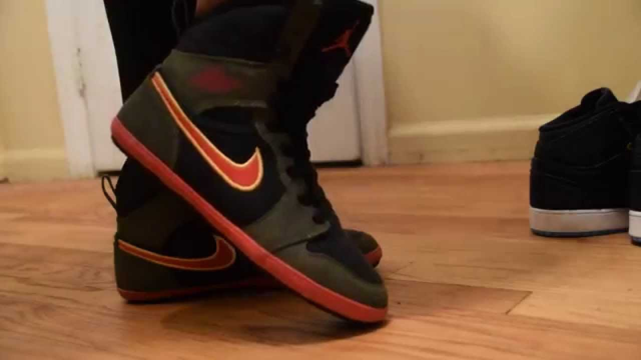 On Feet  Jordan Retro 1 GS - Skinny High - YouTube a8c046e82d53