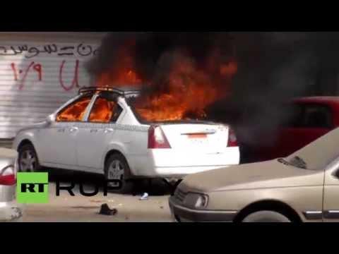Egypt: Cairo clashes erupt on cancelled Jan 25 uprising celebrations