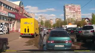 Road Rage Fail Russia Crazy Drivers Fight on Dashcam
