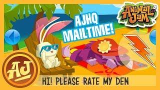 Back To School AJHQ Mailtime!  |  Animal Jam & Play Wild