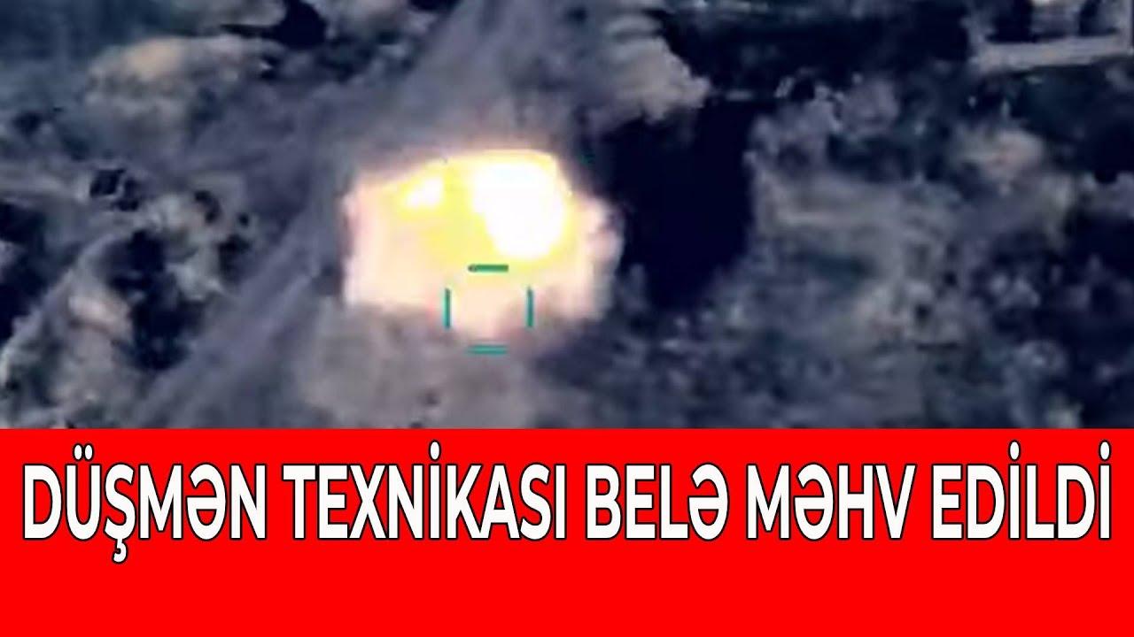 ERMƏNİLƏRİN TEXNİKASI BELƏ MƏHV EDİLİR - VİDEO
