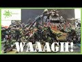 giant Ork warboss gets the green stuff treatment  on  WAAAGH! on a Wednesday episode 8