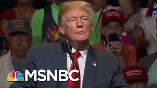 President Donald Trump Attacks Stop After Michael Avenatti Revelation | The Last Word | MSNBC