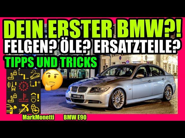 Dein erster BMW TIPPS UND TRICKS | Das musst du Wissen! | MarkMonetti